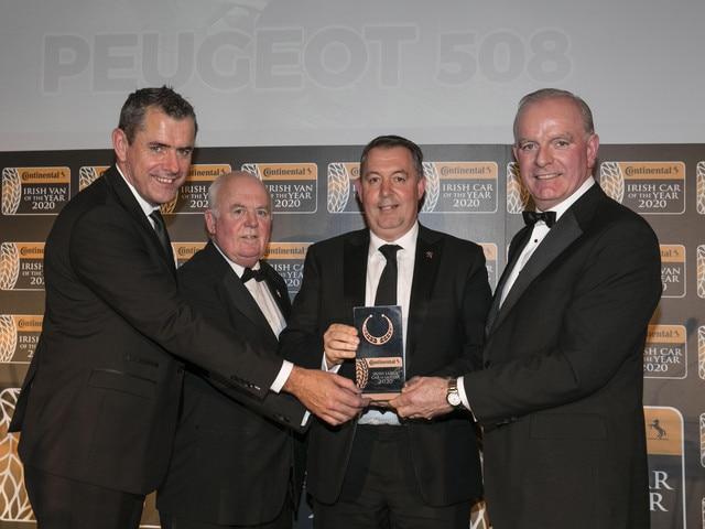 Irish Large Car of the Year Award 2020