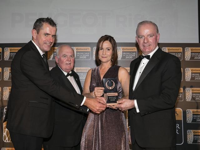 Irish MPV Car of the Year Award 2020