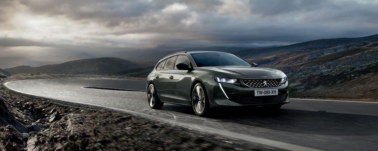 New PEUGEOT 508 SW: the high-end estate with a striking designv