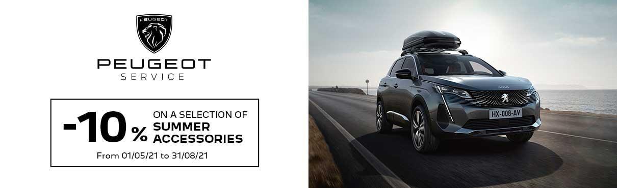 Peugeot Summer Accessories
