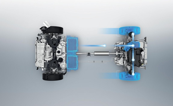 PEUGEOT 3008 SUV HYBRID4: Energy recovery from braking