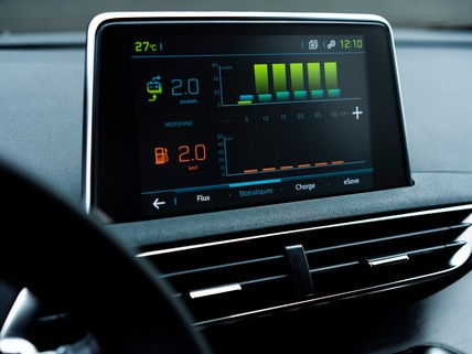 PEUGEOT 3008 SUV HYBRID4 - HD touch-screen