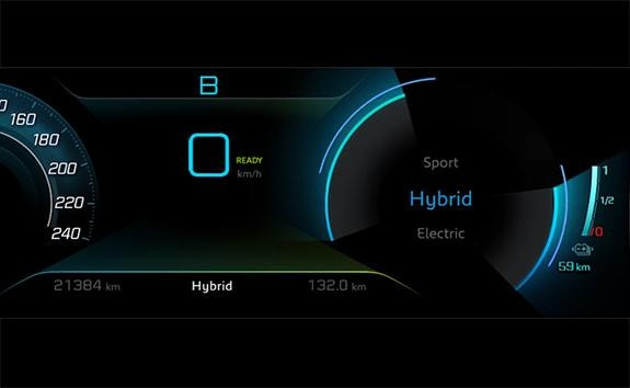 PEUGEOT 3008 SUV HYBRID4 : DRIVING MODE