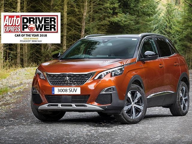 AUTO EXPRESS CAR OF THE YEAR with reg