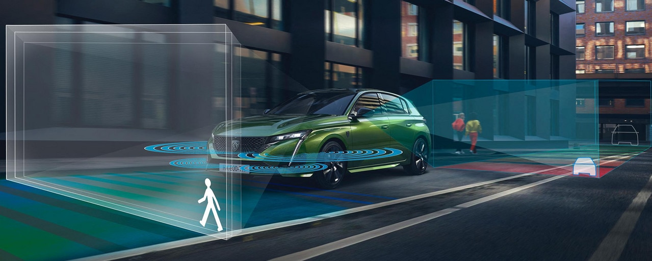New PEUGEOT 308 HYBRID - Driving aids
