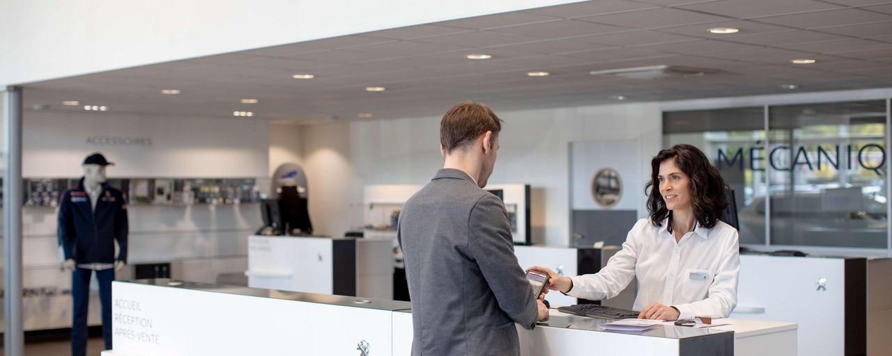 Peugeot - service après-vente
