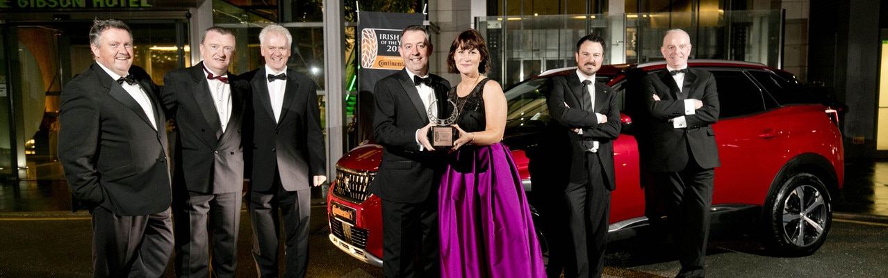 Irish Car of the Year 2018 - Peugeot 3008ii