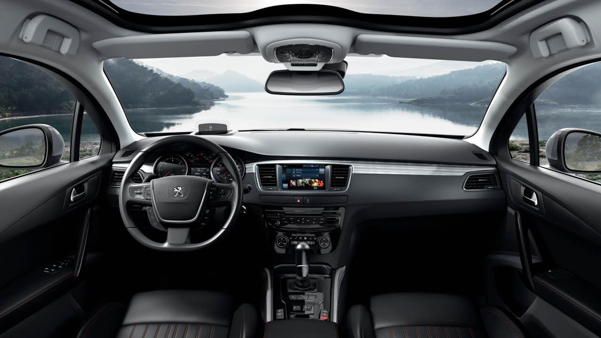 Peugeot 508 rxh 508 with an all terrain look for Interieur 508 rxh