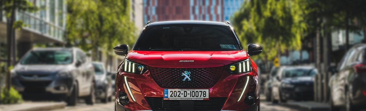 Reconnection Series - Co. Dublin - Web Cover Image - Peugeot 2008 SUV