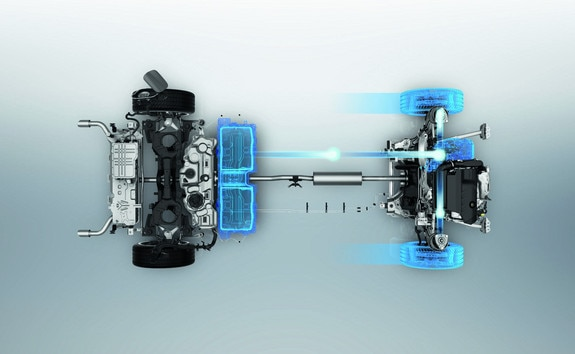 All-new PEUGEOT 508SW HYBRID - lithium-ion battery in Electric mode