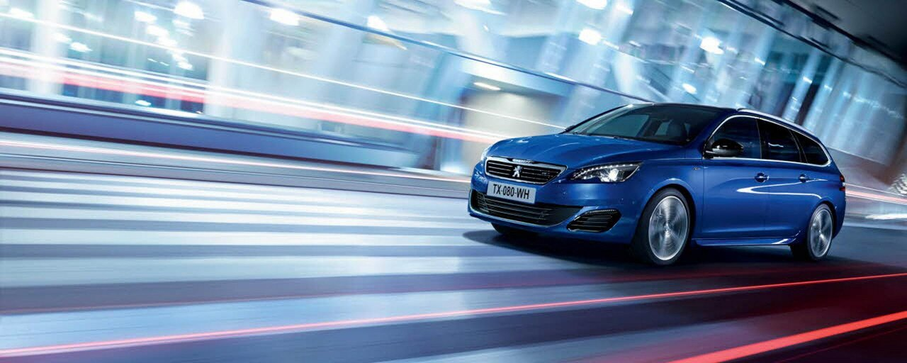 The Peugeot 308 GT | The sporty new high-performance saloon car