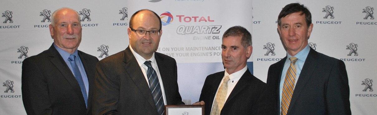 JJ Burke Car Sales Technician of the Year