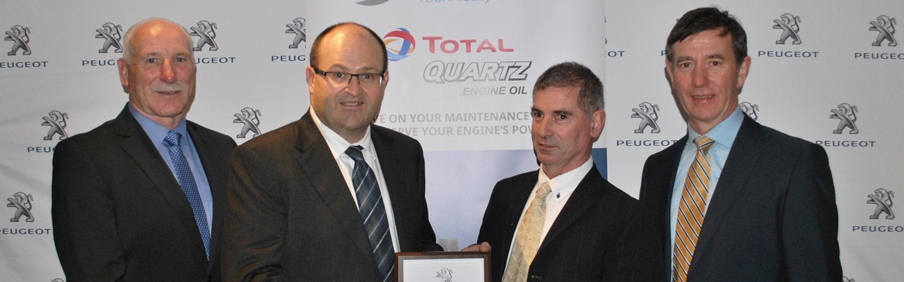 JJ Burke Car Sales Technician of the Year