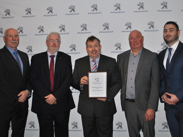 Peugeot Parts Dealer of the Year 2017