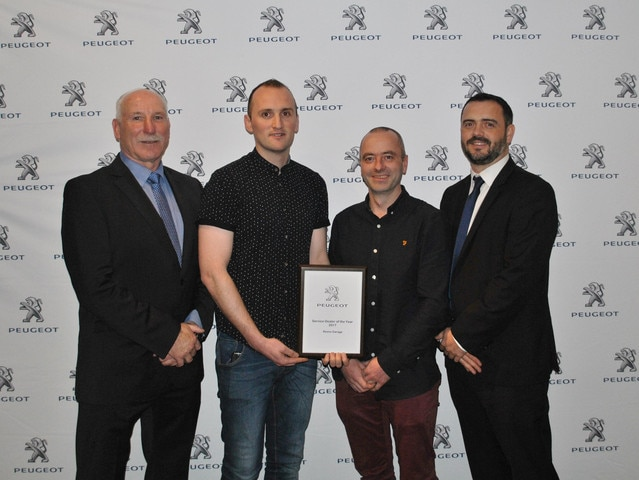 Peugeot Service Manager of the Year 2017