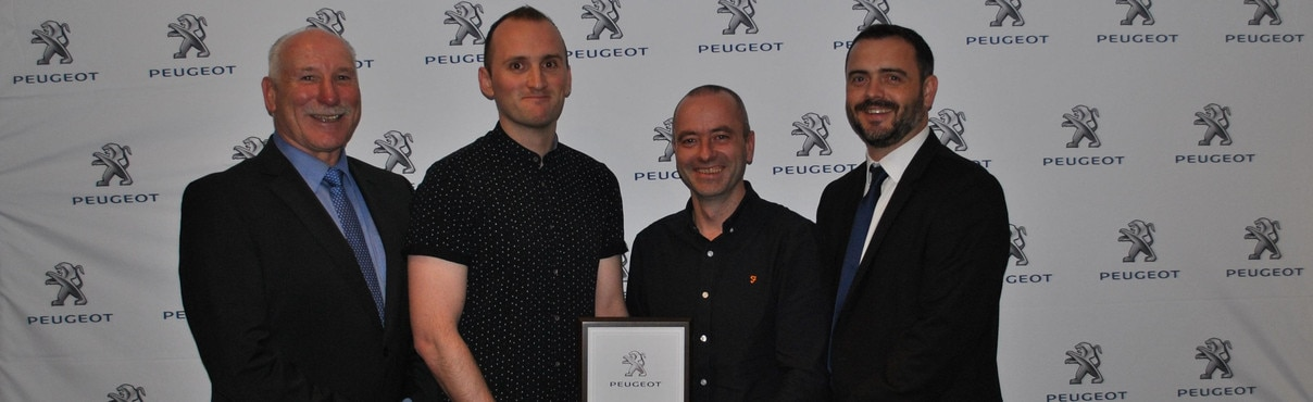 Peugeot Service Manager of the Year 2017 Header