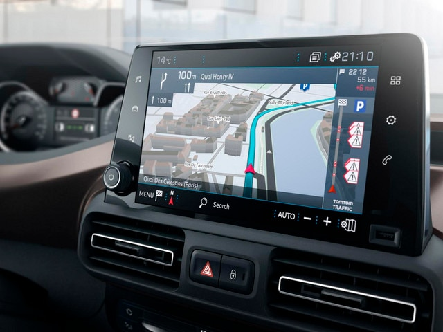 NEW PEUGEOT RIFTER - 8 '' touch screen