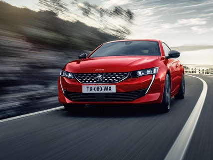 The PEUGEOT 508 high-end saloon