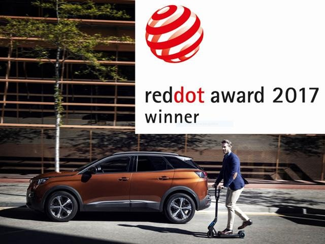 3008 Red dot award