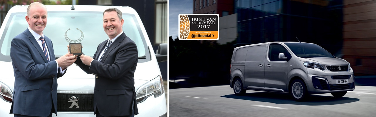 Peugeot expert van of the year 2017 news page