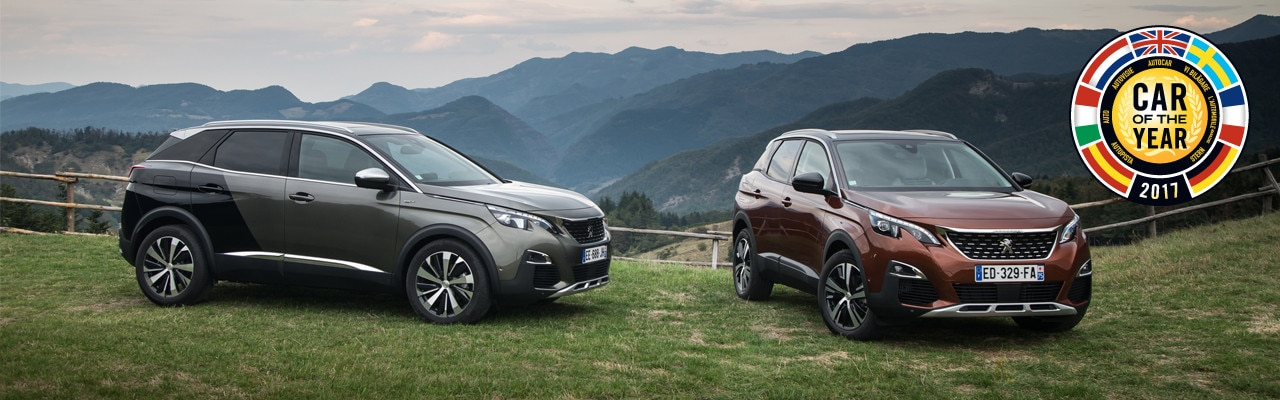 Peugeot 3008 Car of the year 2017 news article