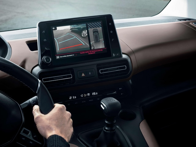 New PEUGEOT RIFTER – Reversing camera