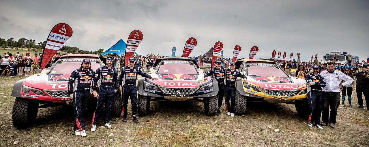 Peugeot Dakar 3008 DKR Wins