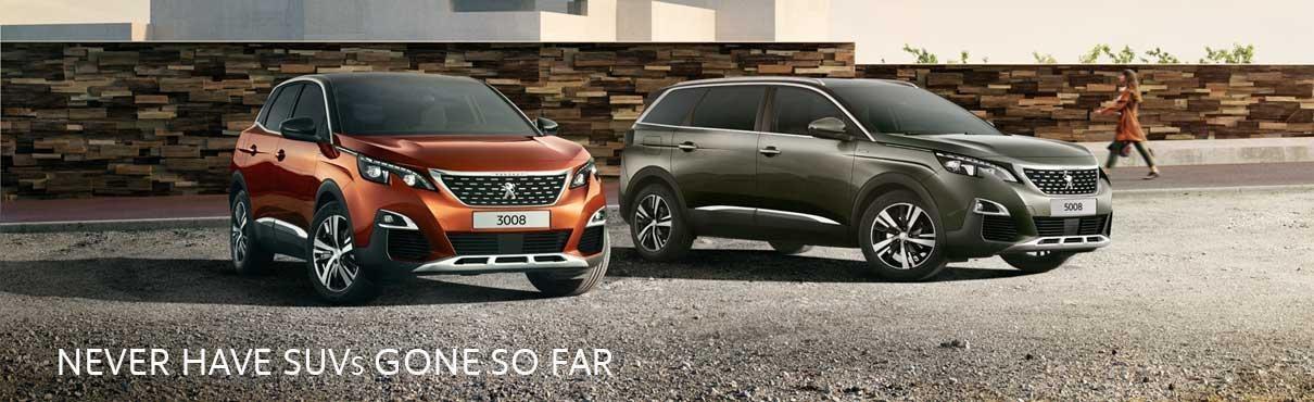 Peugeot SUV Range image
