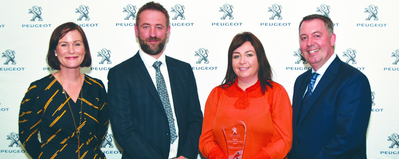 Flacks Peugeot Sales Dealer of the Year 2018 (1)