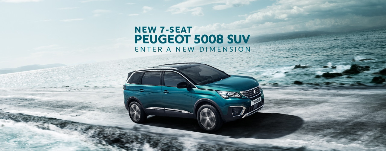 New Peugeot 5008 SUV slider