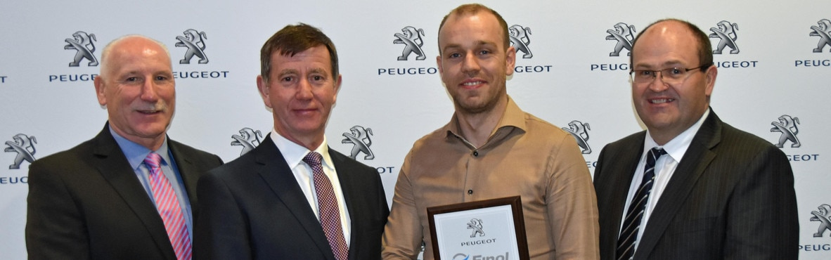 Lynn Motors Peugeot Technician of the Year