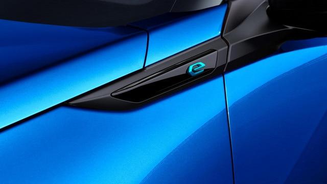 ALL-NEW PEUGEOT e-2008 electric SUV: 'e' electric initial