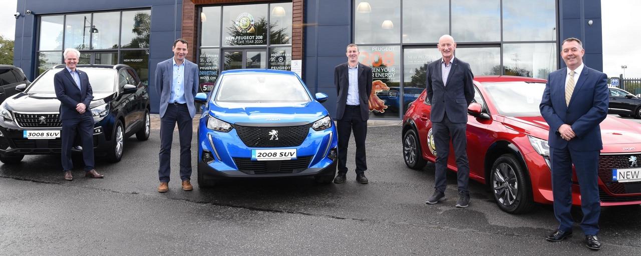 New Dealer Principals at Morrissey Motors Kilkenny - Peugeot - September 2020