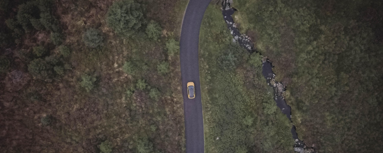 Reconnection Series - Co. Wicklow - Drone Shot - Peugeot 208