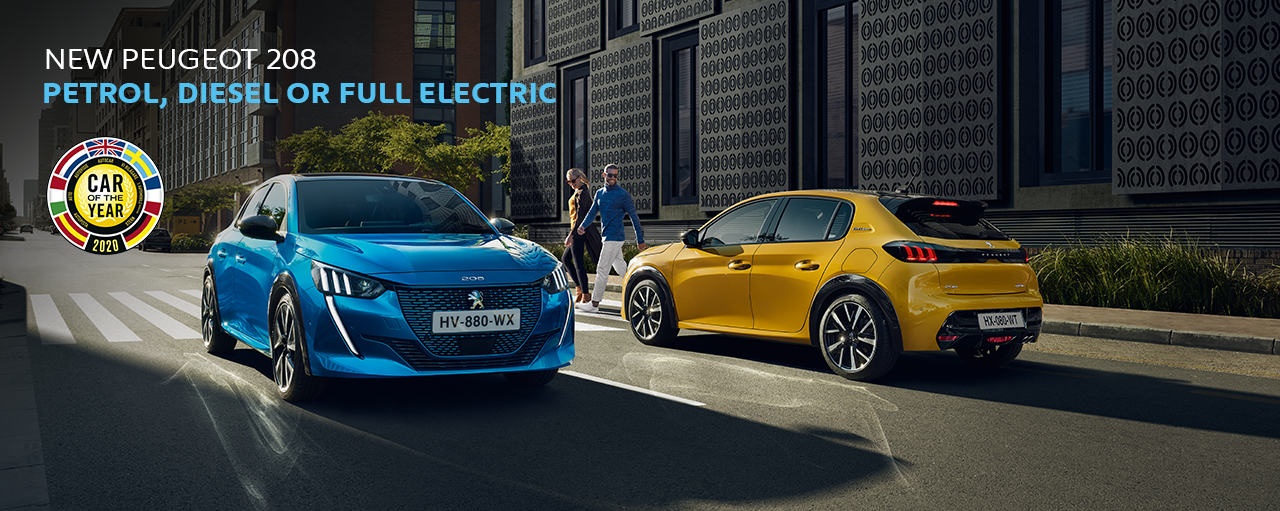New Peugeot 208 - Car of the Year 2020
