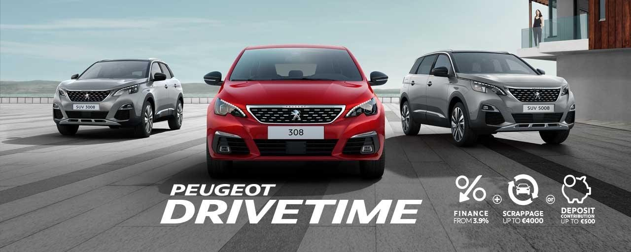 Peugeot 202 Drivetime offers slideshow
