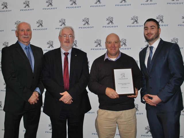 Peugeot Accessories Dealer of the Year 2017