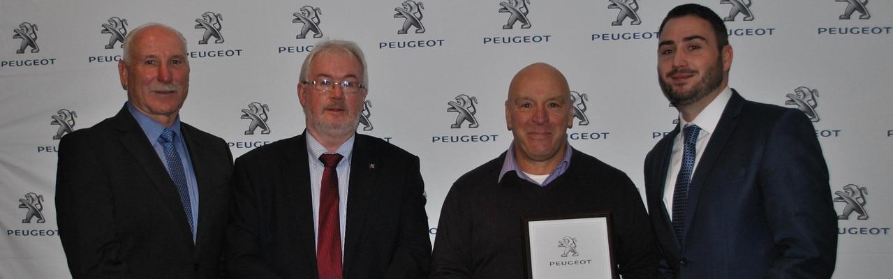 Peugeot Accessories Dealer Header