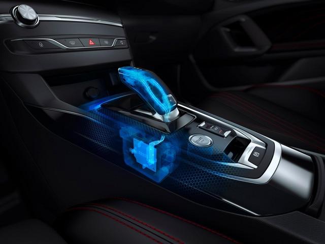 New Peugeot 308 Gearbox