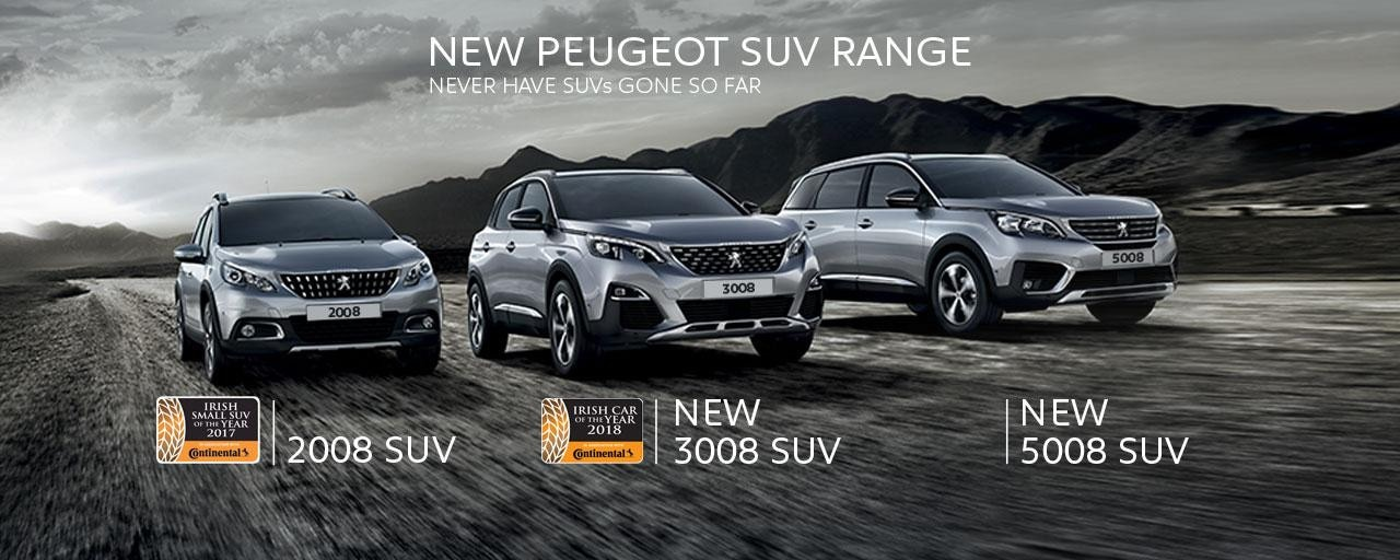 SUV range with Irish Awards