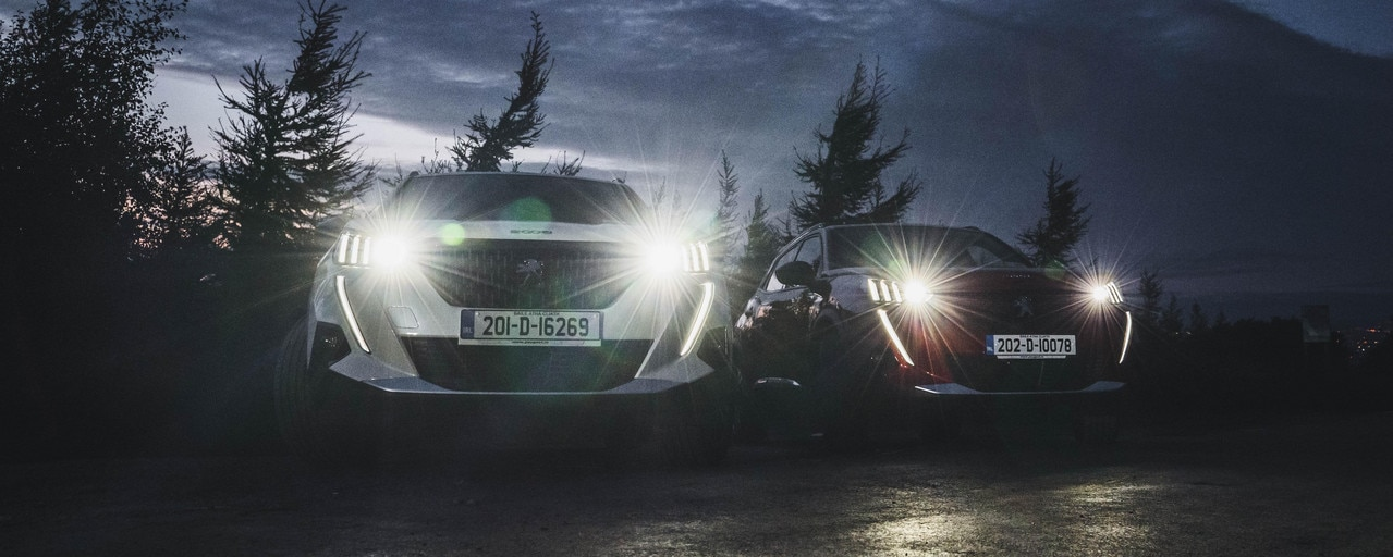 Reconnection Series - Co. Dublin - Ticknock - Peugeot e2008 SUV
