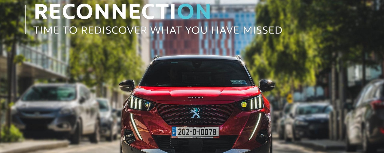 Reconnection Series - Co. Dublin - Cover - Peugeot e2008 SUV