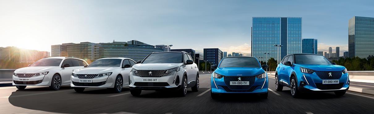 Peugeot Electric & Hybrid Header